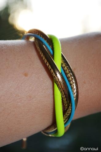 DIY Leather Bracelet