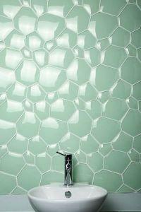 Watercube Glass tile for bathroom