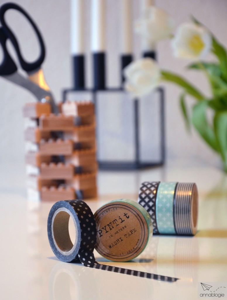 Ikea Malm mit Washi Tape