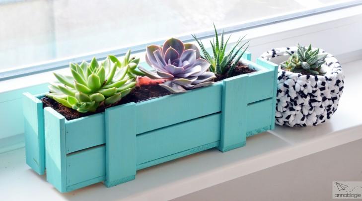 DIY Blumenkasten - annablogie