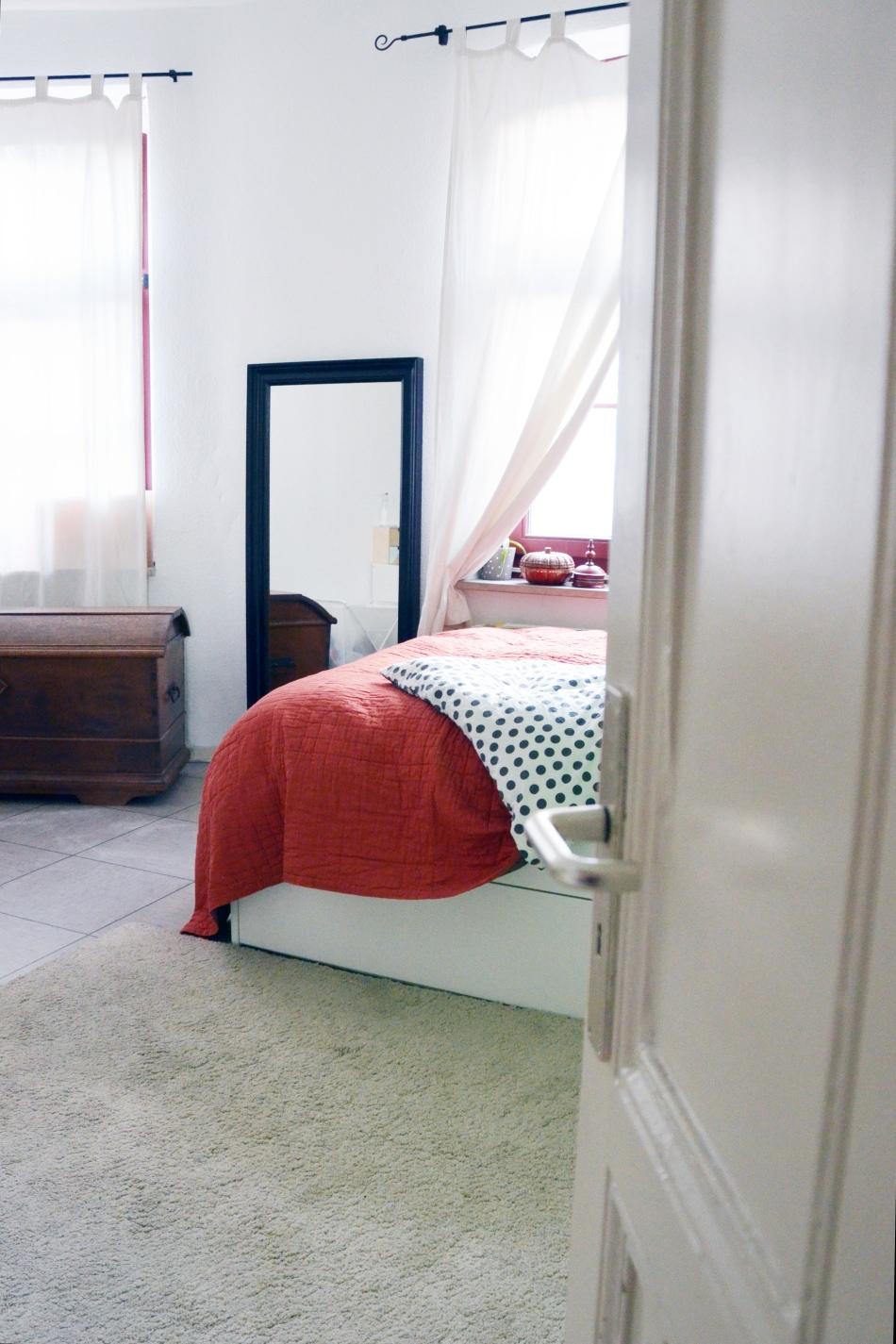 Einblick ins Schlafzimmer - annablogie