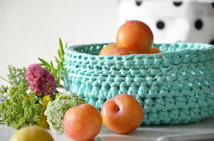 Gehäkelter Obstkorb -annablogie