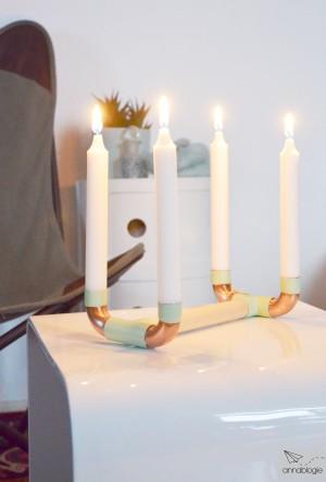MiMaMeise Kerzenständer annablogie