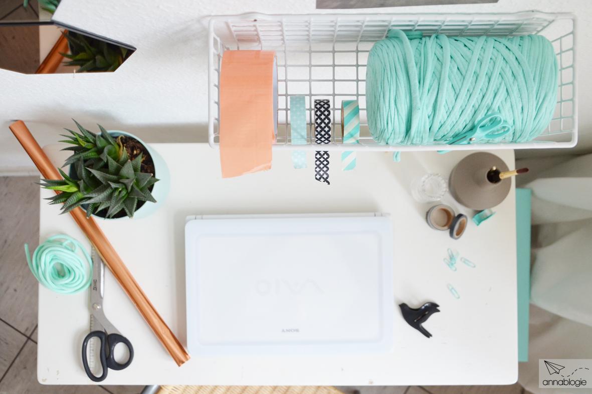 Endlich fertig: mein mini home office – annablogie