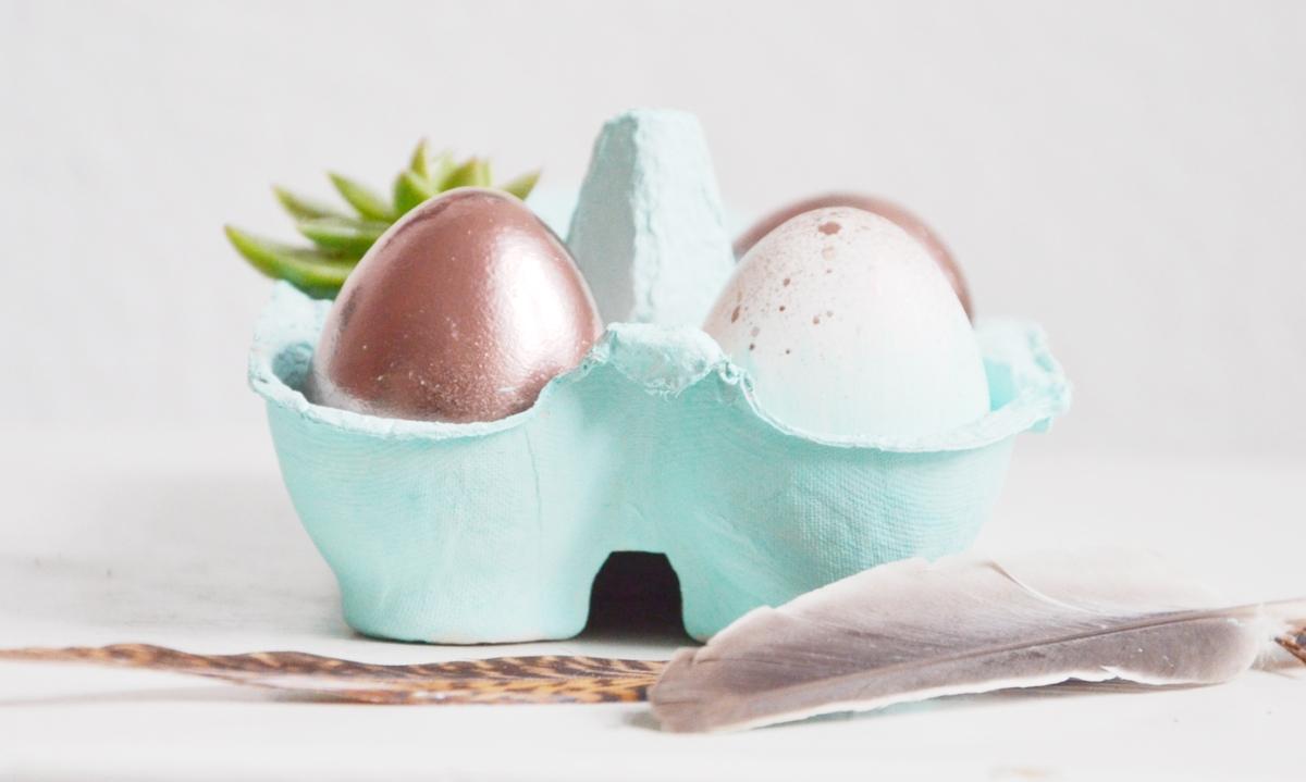 Ostern in Mint und Kupfer