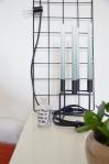 Pflanzengitter als Wohnzimmer-Deko
