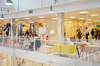 IKEA Designquartier Älmhult Obergeschoss