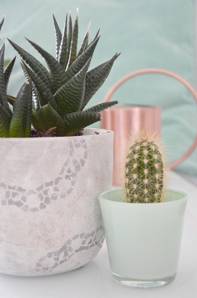 Blumentopf mit Verzierungen - annablogie