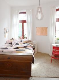 Schlafzimmer in neuem Look