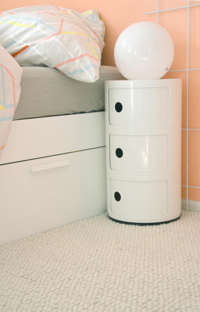 onloom Wollteppich im Schlafzimmer - annablogie