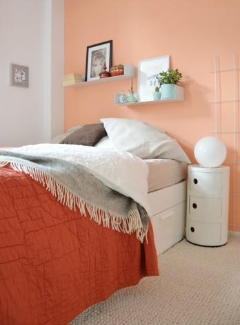Schlafzimmer Bettüberwurf annablogie