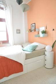 Wandfarbe Apricot