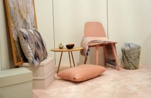 Vorwerk Teppich in Rosa auf der DOMOTEX 2016