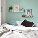 Die farbe rosa in meinem schlafzimmer annablogie - Rosa wandfarbe schlafzimmer ...