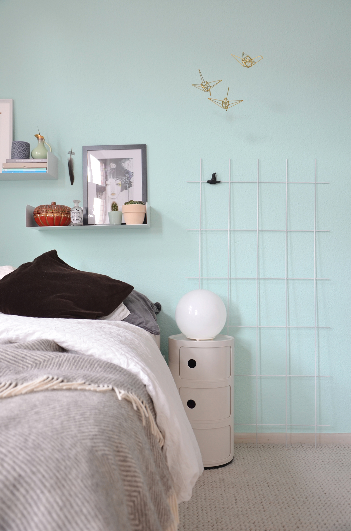 Die Neue Wandfarbe: Mint