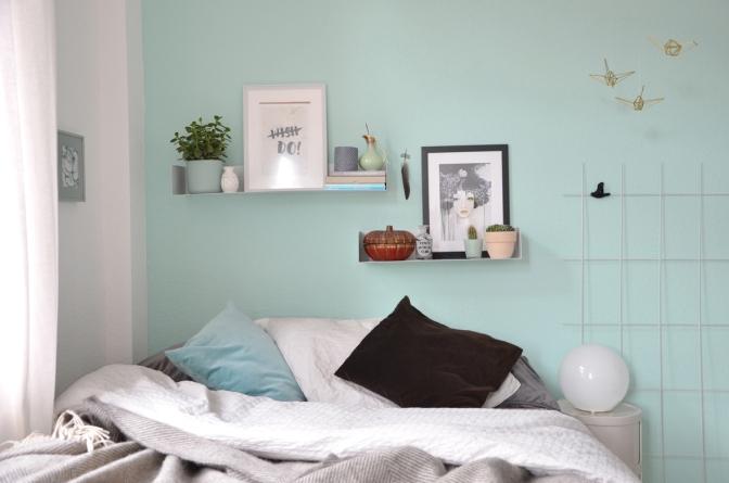 Umstyling – neue Farbe im Schlafzimmer