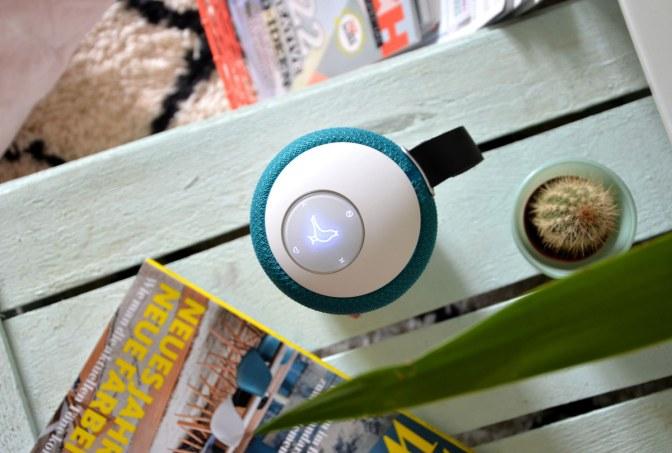 Libratone Wireless Lautsprecher in Türkis - annablogie