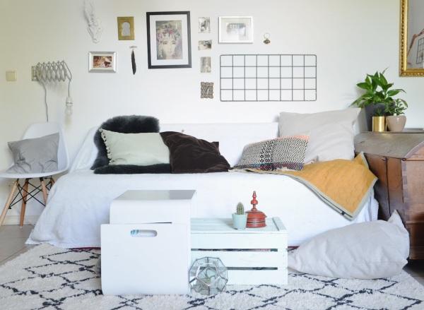 Wohnzimmer-Umstyling