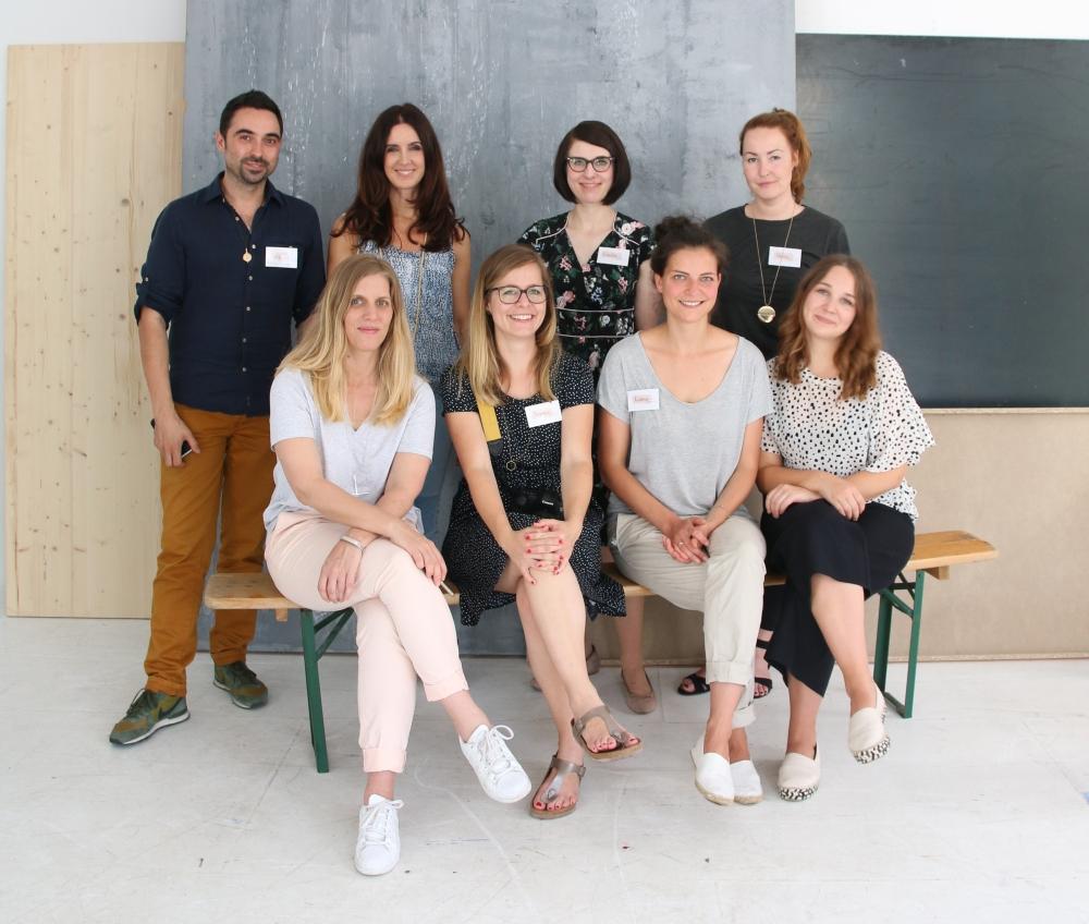 Blogger beim Workshop von Schöner Wohnen
