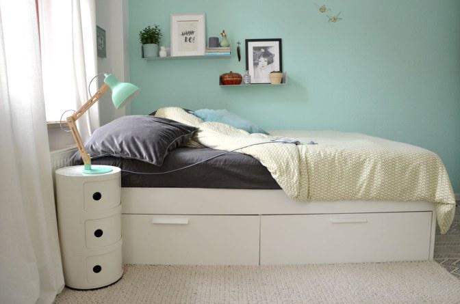 Schlafzimmer mit Wohlfühlfaktor