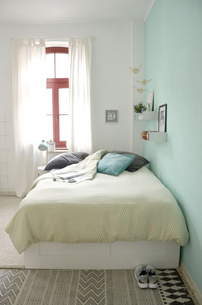 Schlafzimmerumstyling