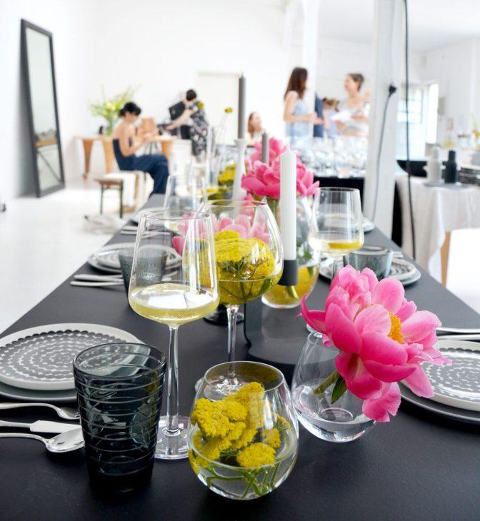 Mit Schöner Wohnen am gedeckten Tisch