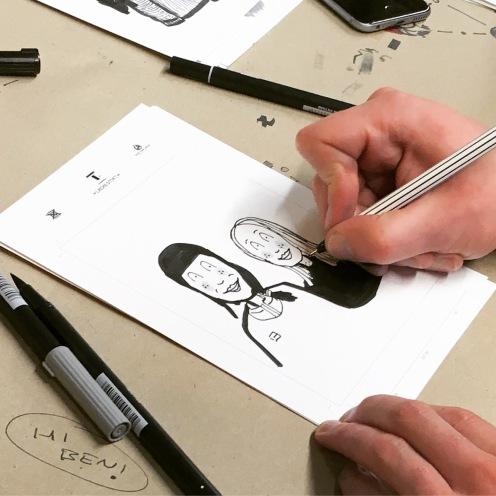 Illustrationen aus dem #lachsomat