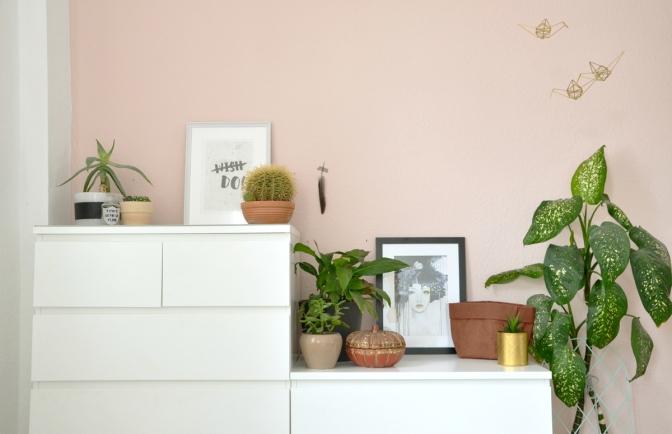 Die Farbe Rosa — in meinem Schlafzimmer