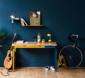 TipToe in Blau und Gelb