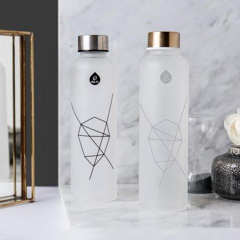 Equa Mismatch Trinkflasche aus Glas