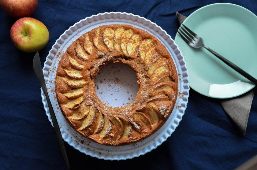 Carina Kuchen mit Apfel und Zimt
