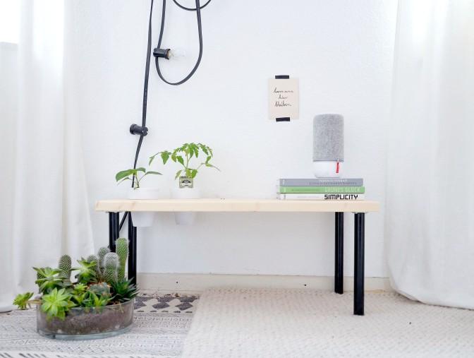 DIY Pflanzenbank