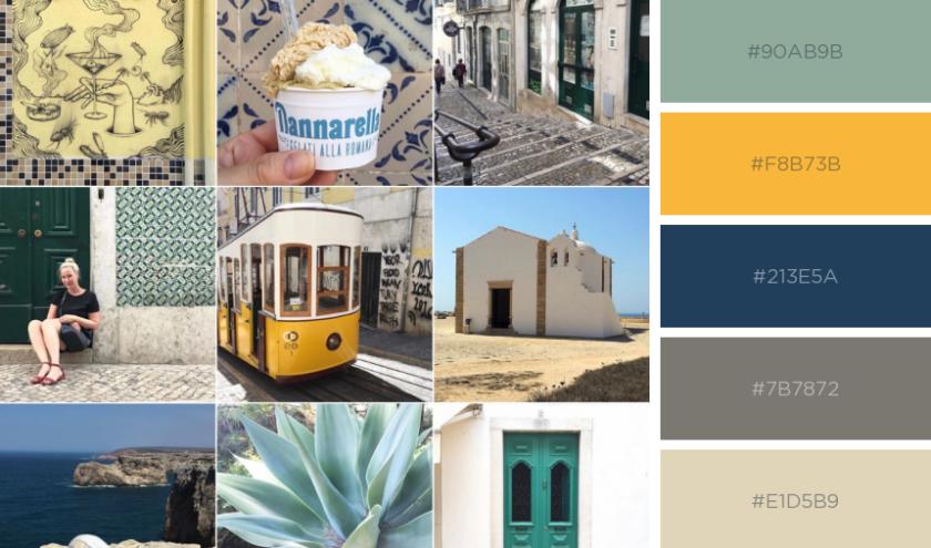 Color palette: Portugal