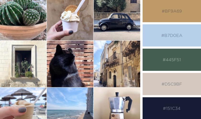 Color Palette: Bella Puglia