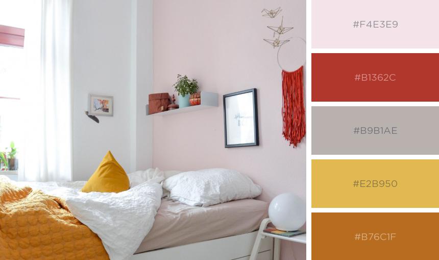 Farben im Schlafzimmer