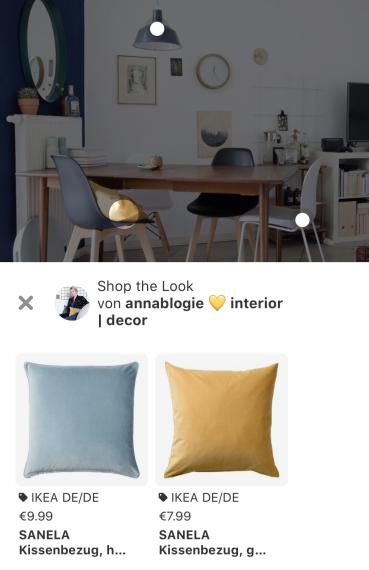 Shop the look bei Pinterest