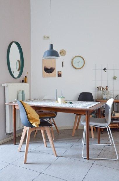 Wandfarbe Pergament von Schöner Wohnen im Wohnzimmer