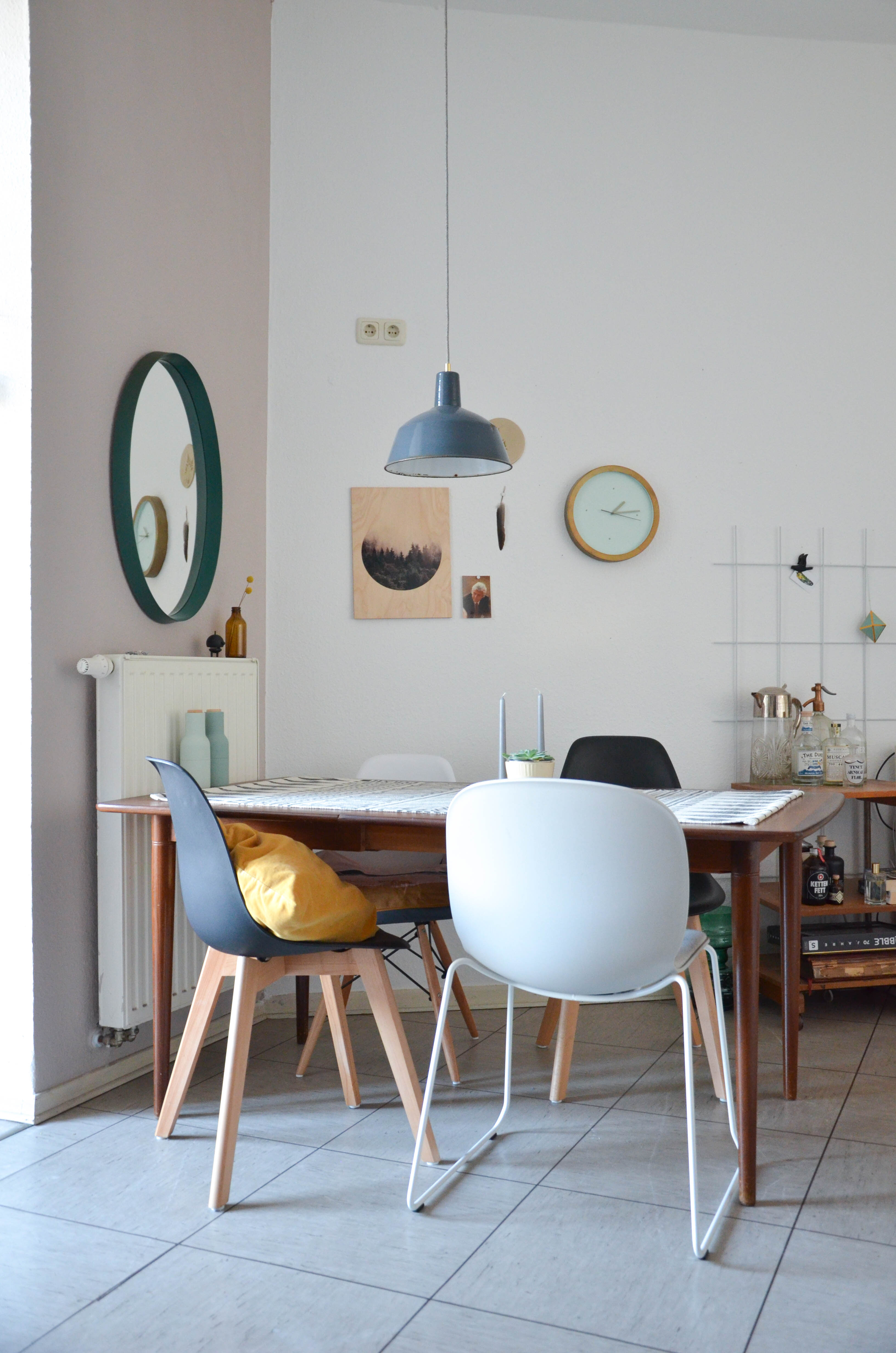 Wandfarbe Pergament von Schöner Wohnen im Wohnzimmer ...