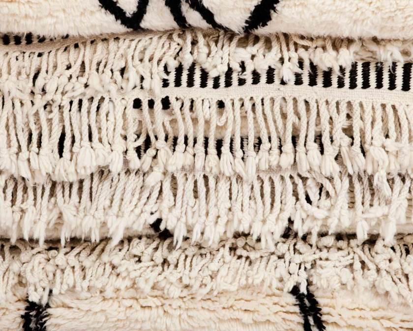 Flauchiger Beni Ourain Teppich von Suhki