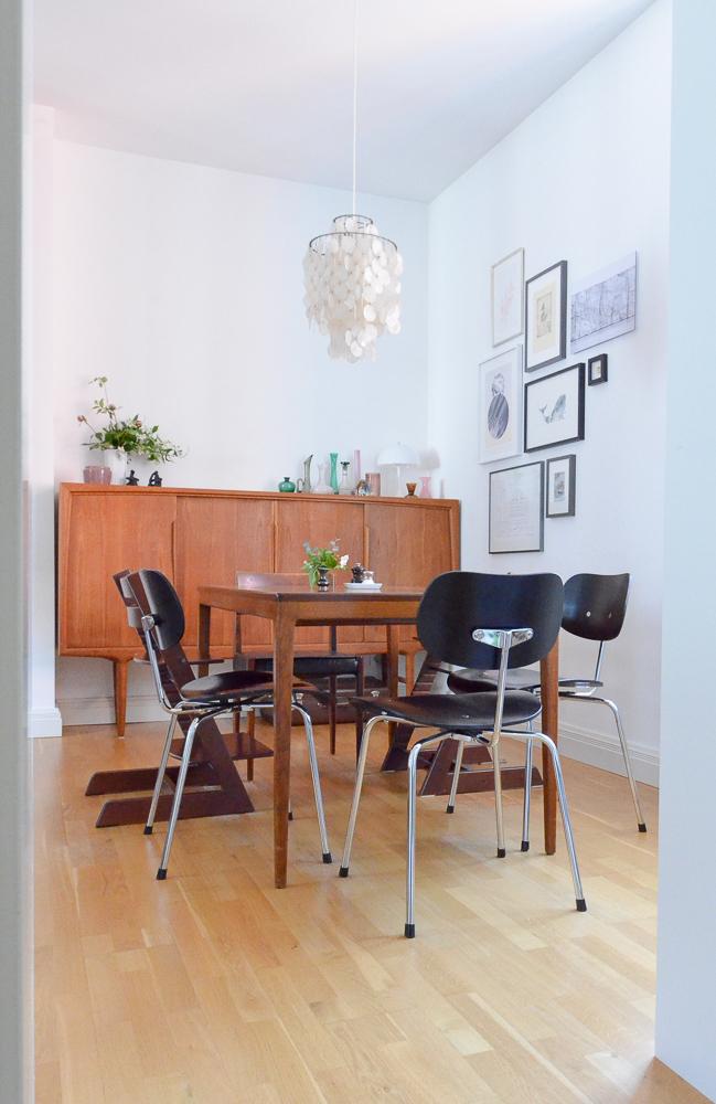 Homestory: Midcentury Modern in einer Altbauwohnung