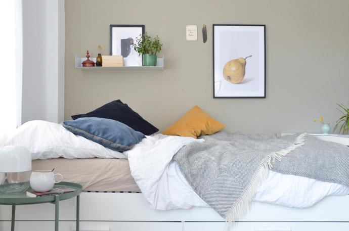 Lagom im Schlafzimmer – Wohnstil für Bodenhaftung